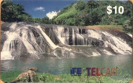 Guam - GU-ITE-TEL-0001, IT&E, Remote Memory, Waterfall, First Issued, 10 $, Unused, Mint As Scan - Guam