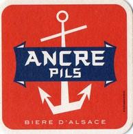 SOUS BOCK - L - ANCRE PILS - BIERE D'ALSACE - Beer Mats