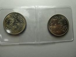 Egypt 2 Coins 20 Piastres 1980 - Egipto