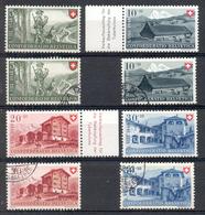 LIQUIDATION TOTALE : 1948 - Zu N° 38/41 - Mi N° 508/511 - Yv N° 457/460 - ** (MNH) Et Oblitérés (o) - Suisse