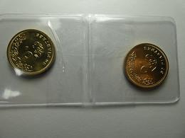 Egypt 2 Coins 50 Piastres 2005 - Egitto