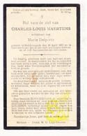 DP Charles L. Maertens ° Ruddervoorde Oostkamp 1872 † Ieper 1938 X Marie Delporte - Images Religieuses