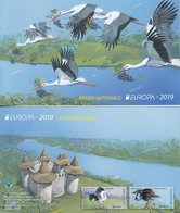MOLDOVA 2019 EUROPA CEPT.NATIONAL BIRDS BOOKLET  MNH - 2019