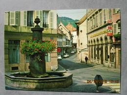CP 67 BARR  - Place Aux Pommes De Terre , Fontaine Vers 1970 - Barr