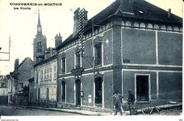 77 . Seine Et Marne . Donnemarie En Montois :  La Poste . - Autres Communes