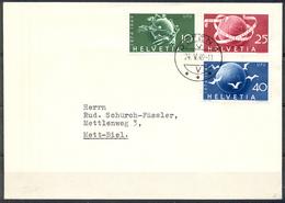 LIQUIDATION TOTALE : 1949 - TRES BELLE LETTRE Avec BEL AFFRANCHISSEMENT - Yvert N° 474 à 476 (SERIE COMPLETE) - Suisse
