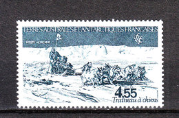 TAAF  -  Slitta Trainata Dai Cani. Sledding By Dogs. MNH - Other Means Of Transport