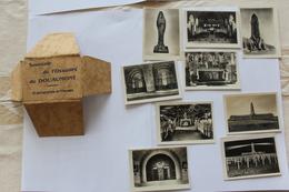 Souvenir De L Ossuaire De Douaumont   (9 Photos) Années 50 - Lugares