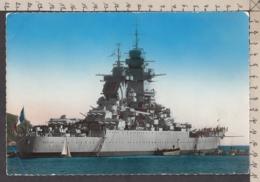 95900GF/ BATEAUX DE GUERRE, Le *Richelieu*, Navire De Guerre Français, Maxicarte, Voir Angle Inférieur Gauche - Guerre