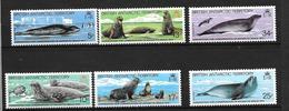 British Antarctic Territoty Série 118/123** Superbe - Neufs