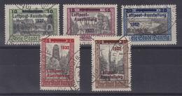 Danzig MiNr. 231-235 Gest. SST - Danzig