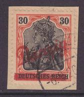 Danzig MiNr. 37 Gef.gest. Gepr. - Briefstück - Danzig