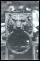 NEMI - ANNI 30 - RECUPERO NAVI ROMANE - FOTOCARTOLINA ORIGINALE CON TIMBRO FOT. BERNARDI DI GENZANO DI ROMA (2) - Roma (Rome)