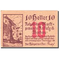 Billet, Autriche, Koffatz In Der Wachau 10Heller Monument 1920 SPL Mehl:FS 848a - Autriche