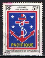 NUOVA CALEDONIA - 1984 - GIORNATA DELLE FORZE ARMATE - USATO - Posta Aerea