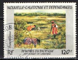 NUOVA CALEDONIA - 1984 - PITTORI DEL PACIFICO: BONNET DE LARBOGNE - USATO - Posta Aerea