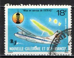 NUOVA CALEDONIA - 1986 - MESSA IN ESERCIZIO DELL'AEREO ATR 42 - USATO - Posta Aerea