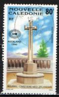 NUOVA CALEDONIA - 1990 - BOURAIL: CIMITERO NEO ZELANDESE - USATO - Posta Aerea