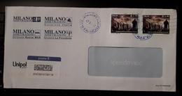 Italia 2019 Storia Postale Coppia Circolo Speleologico 2007 Su Busta Tariffa 2,80 Posta1 - 6. 1946-.. Repubblica
