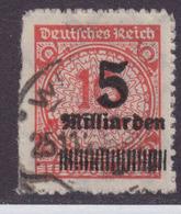 DR MiNr. 334B Gest. Gepr. Kurzbefund - Allemagne