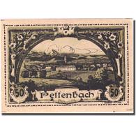 Billet, Autriche, Pettenbach, 50 Heller, Village, 1920 SPL Mehl:FS 738 - Autriche