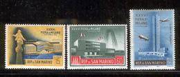 SAN MARINO 1958 Milan Fair Scott Cat. No(s).414-415, C97 MNH - Unused Stamps