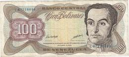 Venezuela 100 Bolívares 13-10-1998 Pk 66 G Sin Nombre De Impresor Ref 14 - Venezuela
