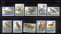 SAN MARINO 1960 Birds Scott Cat. No(s). 446-455 MH - San Marino