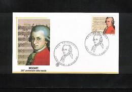 Vatican 2006 Mozart FDC - Muziek