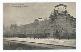 TOULOUSE Sous La Neige - Gare Matabiau -Carte Rare - Toulouse
