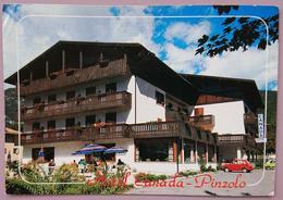 PINZOLO (TRENTO) - Hotel Canada - Fiat 126 - Vg TA2 - Trento