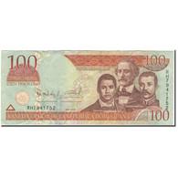 Billet, Dominican Republic, 100 Pesos Oro, 2006, KM:177a, TTB - Dominicana