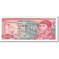 Billet, Mexique, 20 Pesos, 1976-07-08, KM:64c, NEUF - México