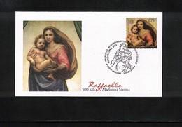 Vatican 2012 Joint Issue With Germany Raffaello FDC - Gemeinschaftsausgaben