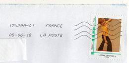 """2018-- Tp  """" Enfant  """"  Seul Sur Lettre ...enveloppe C5 - Marcophilie (Lettres)"""