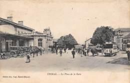 88 - EPINAL - La Place De La Gare - Epinal