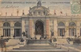 BRUXELLES - Exposition Universelle 1910 - Le Quadrige Et Entrée Principale - Wereldtentoonstellingen