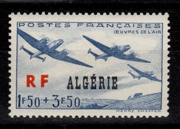 Algerie YV 245 N** Oeuvres De L'Air - Algeria (1924-1962)