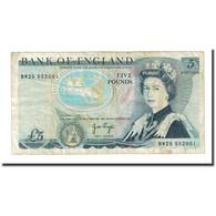 Billet, Grande-Bretagne, 5 Pounds, Undated (1971-91), KM:378a, TB - 1952-… : Elizabeth II