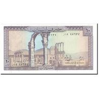 Billet, Lebanon, 10 Livres, KM:63f, NEUF - Liban