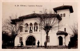 ROMANIA - CALARASI : CAPITANIA PORTULUI - CARTE VRAIE PHOTO / REAL PHOTO POSTCARD ~ 1925 - '930 - RRR ! (ac075) - Roumanie