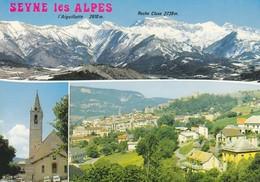 04 Seyne Les Alpes Divers Aspects (2 Scans) - France