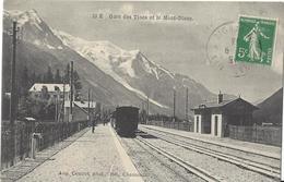 74 LES TINES GARE PLM TRAIN A VOIX METRIQUE LE FAYET VALLEE DE CHAMONIX MONT BLANC EDITEUR COUTTET AUGUSTE 52 E - Chamonix-Mont-Blanc