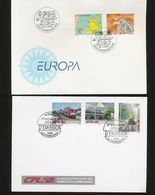 Luxembourg EUROPA Inventions Electric Railways Day Of Issue 1994 2006 A04s - FDC