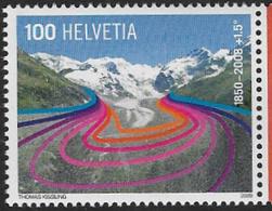 Switzerland SG1764 2009 Glaciers 100c Unmounted Mint [4/3750/7D] - Switzerland