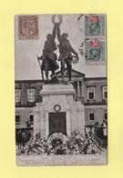 Maurice - Monument Eleve Devant Le College Royal A Curepipe En Memoire Des Mauriciens Tombes Au Champ D Honneur - Maurice