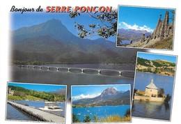 05 Lac De Serre Ponçon Divers Aspects (2 Scans) - Autres Communes