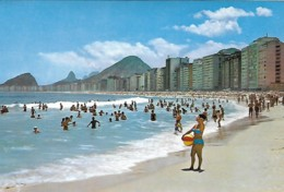 Brazil Brasil Rio De Janeiro Praia Copacabana Voyagé 1969 - Rio De Janeiro