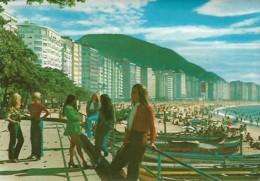 Brazil Brasil Rio De Janeiro Praia Copacabana Voyagé 1978 - Rio De Janeiro