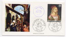 FDC France 1980 - ALBERT DURER -YT 2090 - 75 Paris - 1980-1989